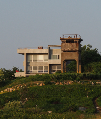 Observation tower in Silver Eel Cove